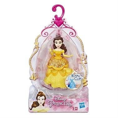 Disney Princess Disney Prenses Klipsli Mini Figür Belle Renkli